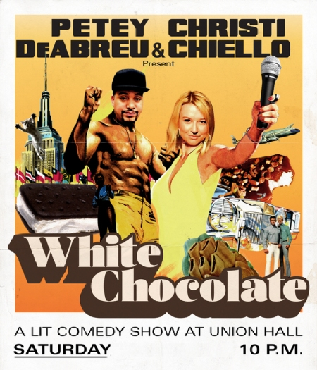 "Petey Deabreu & Christi Chiello: ""White Chocolate"""