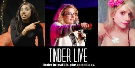 "Ziwe Fumudoh, Jo Firestone, and Lane Moore: ""Lane Moore's Tinder Live"""