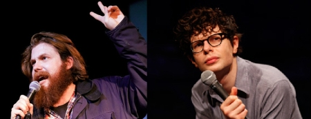 Dan St Germain and Simon Amstell