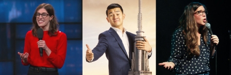 """Emmy Blotnick, Ronny Chieng, and Alison Leiby: Morgan Miller's """"Dirty Laundry"""""""