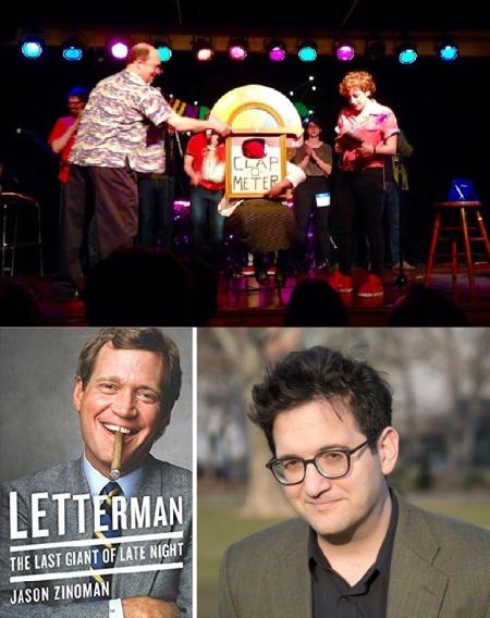 "Fred Firestone, Jo Firestone, Human Clap-O-Meter, and Jason Zinoman: ""Punderdome 3000"""