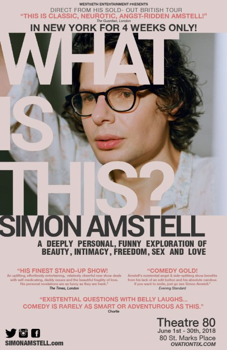 "Simon Amstell: ""What Is This?"""