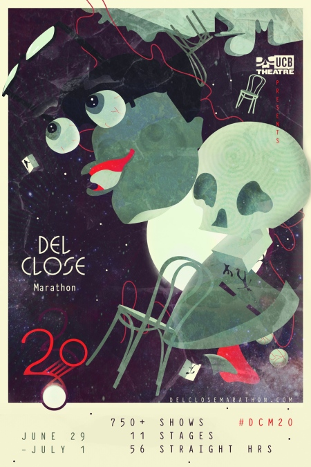 The 20th Annual Del Close Marathon (DCM 2018)