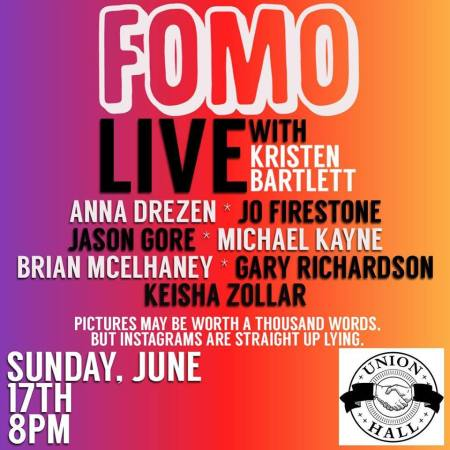FOMO Live with Kristen Bartlett