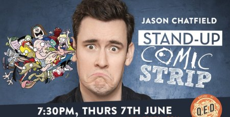 Stand-Up Comic Strip Live with Jason Chatfield