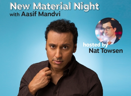 New Material Night with Aasif Mandvi