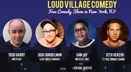 Loud Village Comedy Presents: Luxury Comedy