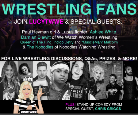 Lucy T WWE: Live!