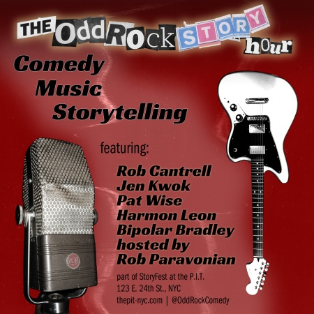 "StoryFest 2018: ""The Odd Rock Story Hour"""