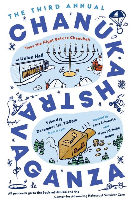 The Third Annual Chanukahstravaganza: 'Twas The Night Before Chanukah