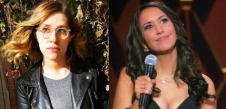 Emmy Blotnick and Rachel Feinstein