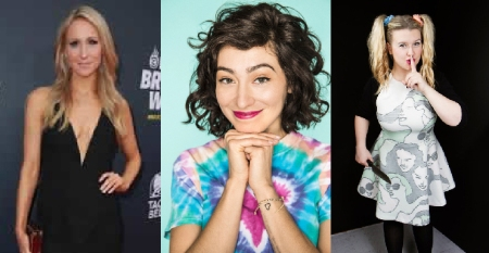 Nikki Glaser, Melissa Villaseñor, and Christi Chiello