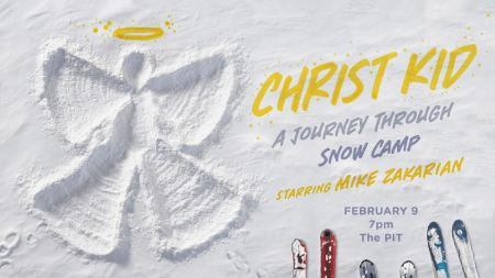 "Mike Zakarian: ""Christ Kid: A Journey Through Snow Camp"""