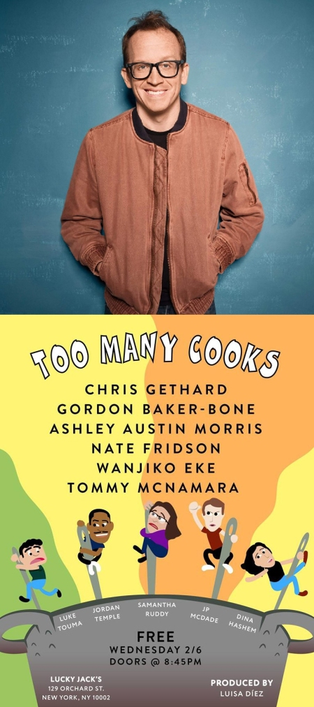 """Too Many Cooks"" with Chris Gethard"