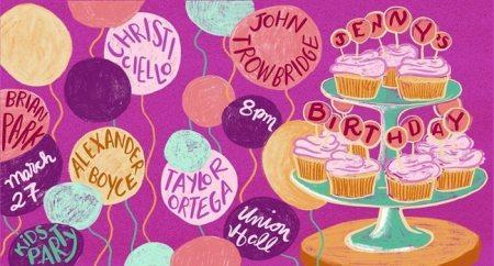 """Jenny Gorelick's """"Jenny's Birthday Variety Show"""