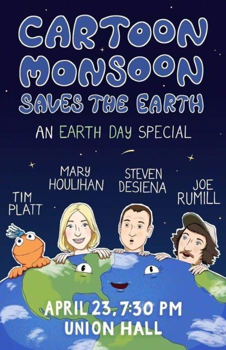 """Joe Rumrill & Mary Houlihan: """"Cartoon Monsoon"""""""