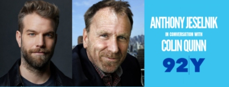 Anthony Jeselnick interviewed by Colin Quinn at 92nd Street Y