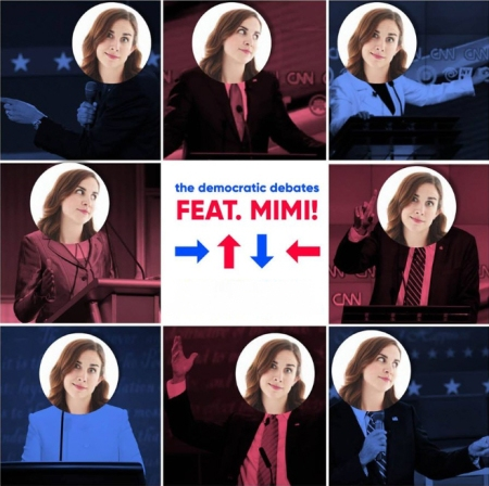 The Democratic Debates—Featuring Mimi!