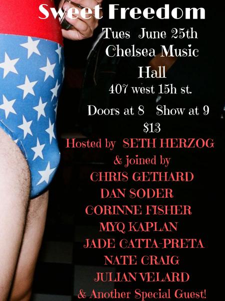 """Seth Herzog: """"Sweet Freedom"""""""