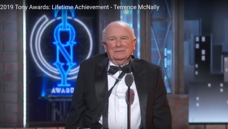 Terrence McNally on 2019 Tony Awards