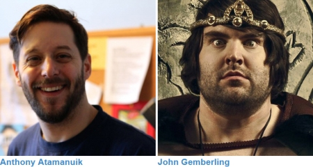 Anthony Atamanuik and John Gemberling