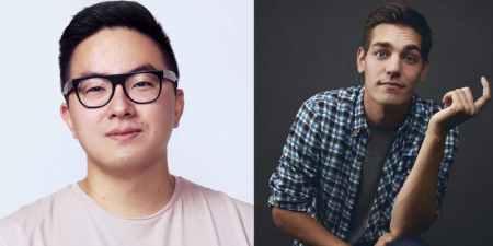 Bowen Yang and Matt Rogers