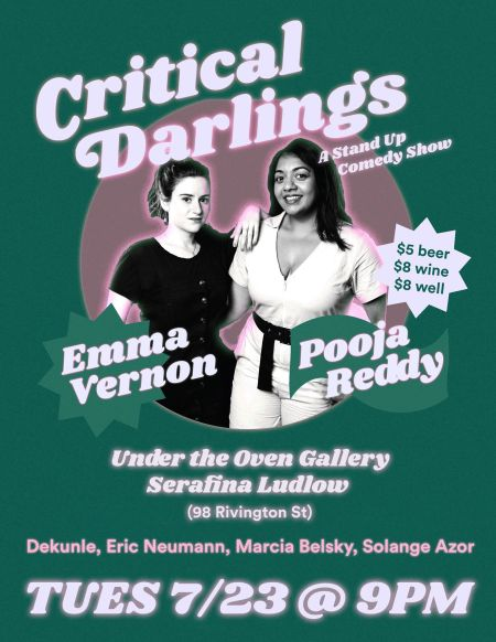 Emma Vernon & Pooja Reddy:
