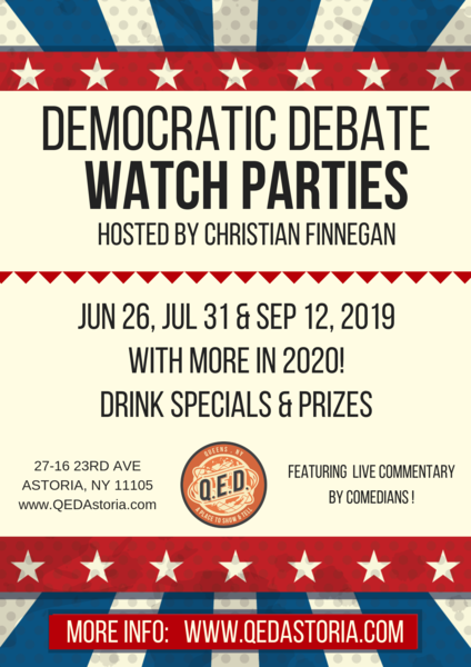 Dem Debate Watch Party