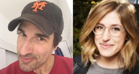 Gary Gulman and Emmy Blotnick:
