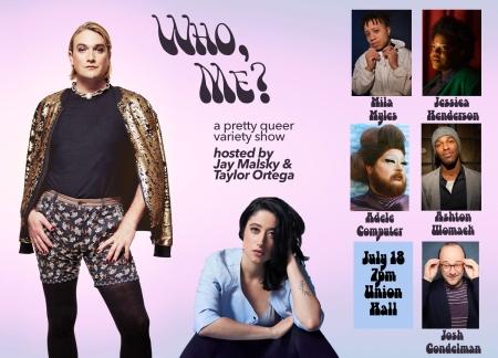 "Jay Malsky & Taylor Ortega: ""Who, Me?"""