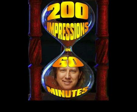 "David Carl: ""200 Impressions in 60 Minutes"""