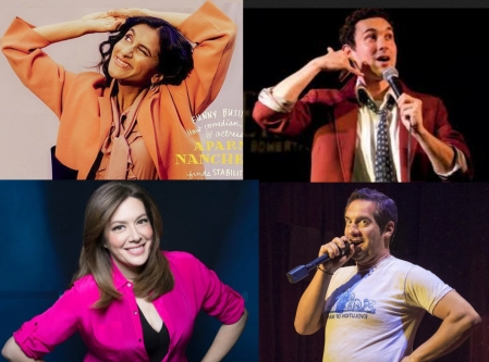 "Aparna Nancherla, Mark Normand, Michelle Collins, and Seth Herzog at Seth Herzog's ""Sweet"""