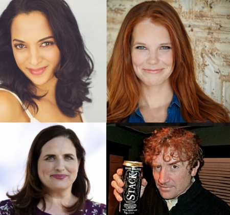 "Sunita Deshpande, Julie Sharbutt, Tami Sagher, and Brian Stack for Stephen Ruddy's ""Gravid Water"""