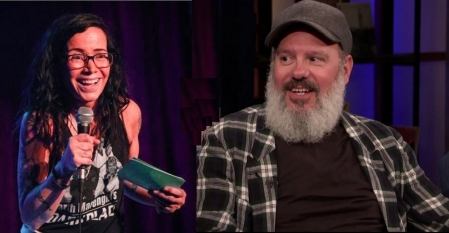 Janeane Garofalo and David Cross