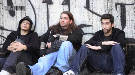Big Jay Oakerson, Dave Smith, and Luis J. Gomez: