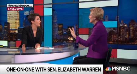 "Rachel Maddow and Elizabeth Warren: ""The Rachel Maddow Show"""