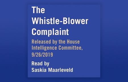 The Whistleblower Complaint Audio
