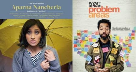 Aparna Nancherla and Wyatt Cenac: