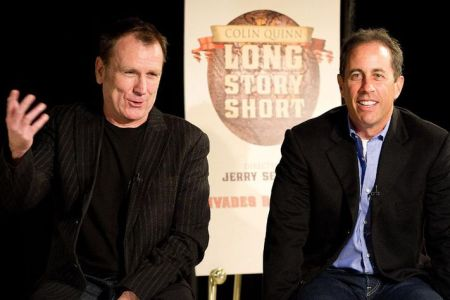 Colin Quinn and Jerry Seinfeld