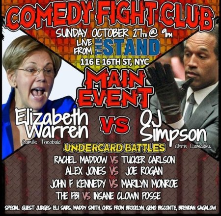 Comedy Fight Club: Halloween Edition