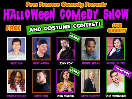 Halloween Comedy Show and Costume Contest