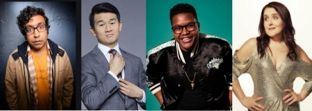 "Hari Kondabolu, Ronny Chieng, Sam Jay, and Rebecca Vigil: ""Comedians You Should Know"""