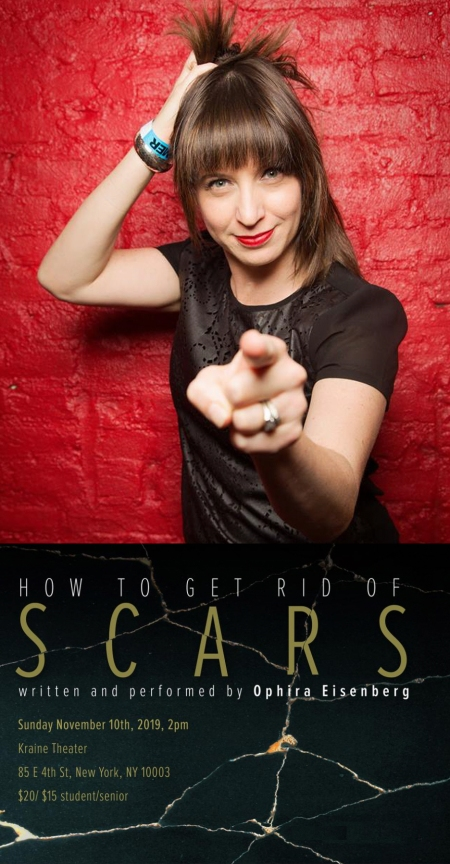 "Ophira Eisenberg: ""How to Get Rid of Scars"""
