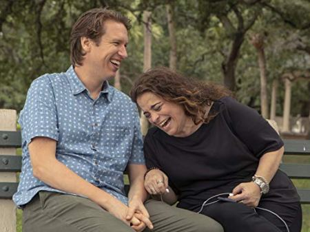 """Jessica Kirson (with Pete Holmes on HBO's """"Crashing"""")"""