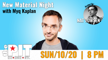 New Material Night with Myq Kaplan