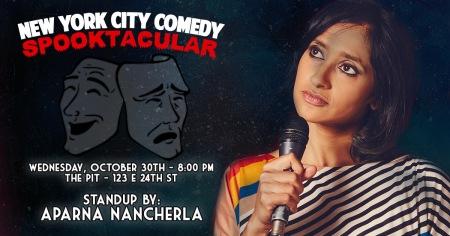 New York City Comedy Spooktacular Featuring Aparna Nancherla