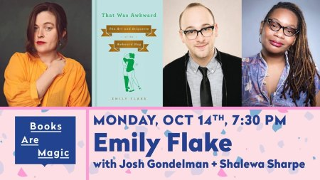 "Emily Flake's ""That Was Awkward"" Book Release Celebration"