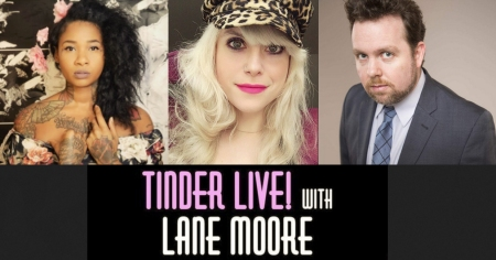 "Jean Grae, Lane Moore, and Connor Ratliff: ""Tinder Live"""