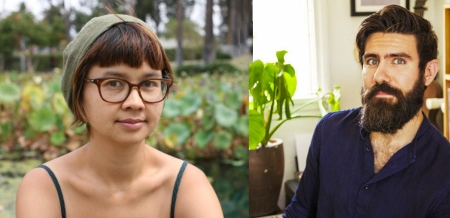 Charlyne Yi and Casey Trela