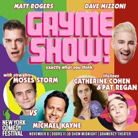 "Matt Rogers & Dave Mizzoni: ""GAYme Show"""